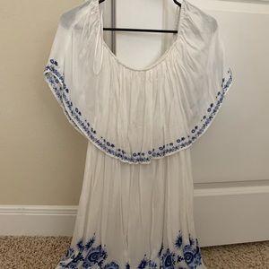 Off the shoulder dress